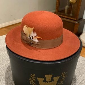 Goorin Brothers Burnt Orange Hat